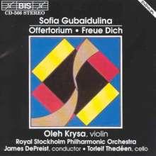 Sofia Gubaidulina (geb. 1931): Offertorium f.Violine & Orchester, CD