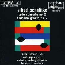 Alfred Schnittke (1934-1998): Cellokonzert Nr.2 (1989/90), CD