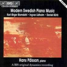 Hans Palsson - Neue schwed. Klaviermusik, CD