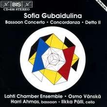 Sofia Gubaidulina (geb. 1931): Konzert für Fagott & tiefe Streicher, CD