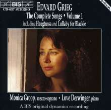 Edvard Grieg (1843-1907): Sämtliche Lieder Vol.1, CD