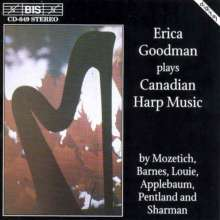 Erica Goodman - Kanadische Harfenmusik, CD