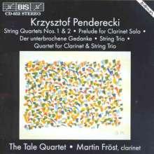 Krzysztof Penderecki (geb. 1933): Streichquartette Nr.1 & 2, CD
