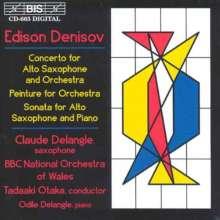 Edison Denisov (1929-1996): Saxophonkonzert, CD