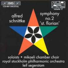 Alfred Schnittke (1934-1998): Symphonie Nr.2 f.Chor & Orchester, CD