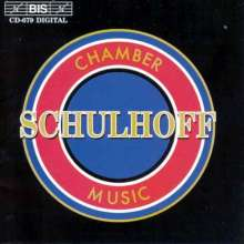 Erwin Schulhoff (1894-1942): Kammermusik, CD