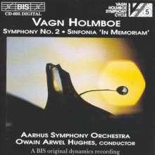 Vagn Holmboe (1909-1996): Symphonie Nr.2, CD