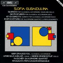 Sofia Gubaidulina (geb. 1931): In Erwartung f.Saxophonquartett & Perc., CD