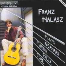 Franz Halasz,Gitarre, CD