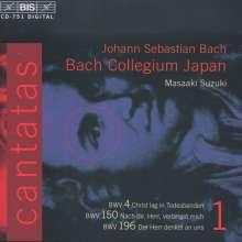 Johann Sebastian Bach (1685-1750): Kantaten Vol.1 (BIS-Edition), CD