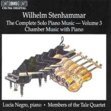Wilhelm Stenhammar (1871-1927): Sämtliche Klavierwerke Vol.3, CD