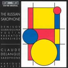 Claude Delangle - The Russian Saxophone, CD