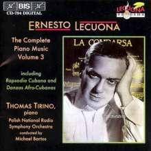 Ernesto Lecuona (1895-1963): Sämtliche Klavierwerke Vol.3, CD