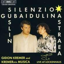 Sofia Gubaidulina (geb. 1931): Silenzio für Bayan,Violine & Cello, CD