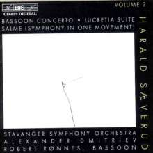 Harald Saeverud (1897-1992): Fagottkonzert op.44, CD