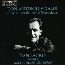 Antonio Vivaldi (1678-1741): Flötenkonzerte RV 92,108,428,435,443-445, CD