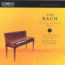 Carl Philipp Emanuel Bach (1714-1788): Cembalosonaten Wq.48 Nr.1-4, CD