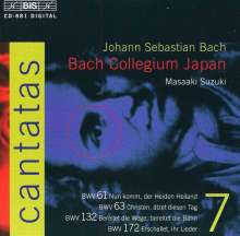 Johann Sebastian Bach (1685-1750): Kantaten Vol.7 (BIS-Edition), CD