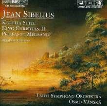 Jean Sibelius (1865-1957): König Christian II op.27, CD