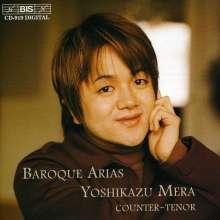 Yoshikazu Mera - Baroque Arias I, CD