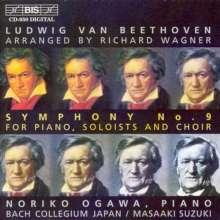 Ludwig van Beethoven (1770-1827): Symphonie Nr.9 (für Klavier,Soli,Chor von R.Wagner), CD