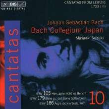 Johann Sebastian Bach (1685-1750): Kantaten Vol.10 (BIS-Edition), CD