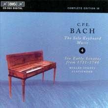 Carl Philipp Emanuel Bach (1714-1788): Cembalosonaten Wq.62 Nr.1 & 2;Wq.65 Nr.1,6,10,11, CD