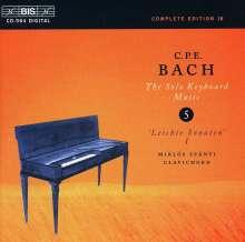 Carl Philipp Emanuel Bach (1714-1788): Cembalosonaten Wq.50 Nr.1-3;Wq.62 Nr.16 & 19, CD