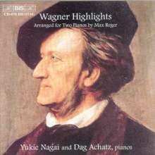Richard Wagner (1813-1883): Transkriptionen für 2 Klaviere, CD
