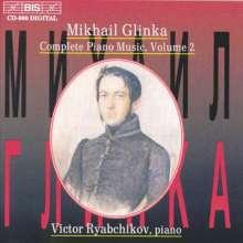 Michael Glinka (1804-1857): Sämtliche Klavierwerke Vol.2, CD