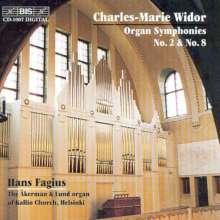Charles-Marie Widor (1844-1937): Orgelsymphonien Nr.2 & 8, CD