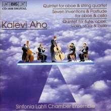 Kalevi Aho (geb. 1949): Oboenquintett, CD