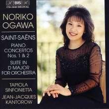 Camille Saint-Saens (1835-1921): Klavierkonzerte Nr.1 & 2, CD