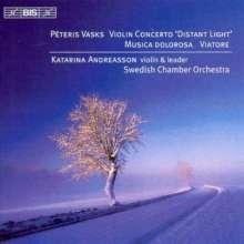 "Peteris Vasks (geb. 1946): Violinkonzert ""Distant Light"", CD"