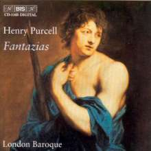Henry Purcell (1659-1695): 13 Fantasien f.3 & 4 Stimmen, CD
