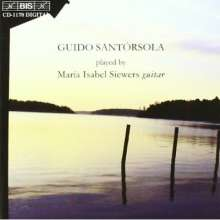 Guido Santorsola (1904-1994): Gitarrenwerke, CD