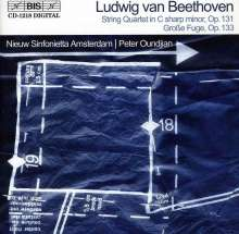 Ludwig van Beethoven (1770-1827): Streichquartett Nr.14 op.131 (Orch.-Fass.), CD