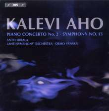 Kalevi Aho (geb. 1949): Symphonie Nr.13, CD