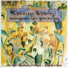 Mozart Camargo Guarnieri (1907-1993): Symphonien Nr.5 & 6, CD