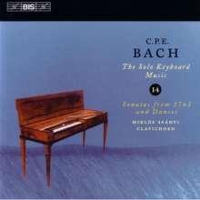 Carl Philipp Emanuel Bach (1714-1788): Cembalosonaten Wq.65 Nr.37-39, CD