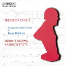Frederick Delius (1862-1934): Orchesterwerke (arrangiert für Klavier 4-händig), CD