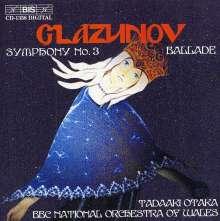 Alexander Glasunow (1865-1936): Symphonie Nr.3, CD
