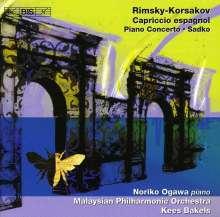 Nikolai Rimsky-Korssakoff (1844-1908): Klavierkonzert op.30, CD