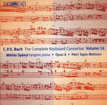 Carl Philipp Emanuel Bach (1714-1788): Sämtliche Cembalokonzerte Vol.14, CD