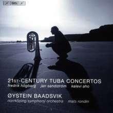 Oystein Baadsvik - 21th Century Tuba Concertos, CD
