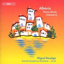 Isaac Albeniz (1860-1909): Klavierwerke Vol.6, CD