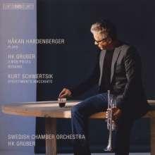 Heinz Karl Gruber (geb. 1943): Busking für Trompete, Akkordeon, Banjo & Streichorchester, CD