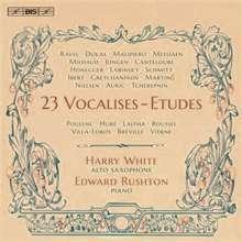 Musik für Saxophon & Klavier - 23 Vocalisen-Etüden, SACD
