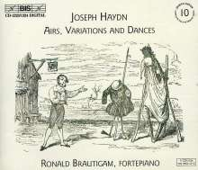 Joseph Haydn (1732-1809): Airs, Variations & Dances, 3 CDs