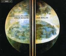 Claude Loyola Allgen (1920-1989): Sonate für Violine solo, 3 CDs